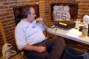 Bill KC9QXO operating for Museums on the Air