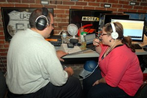 Bill and Terri operating the Museums on the Air event