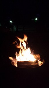 the Campfire at the campground for the Museums on the air weekends.